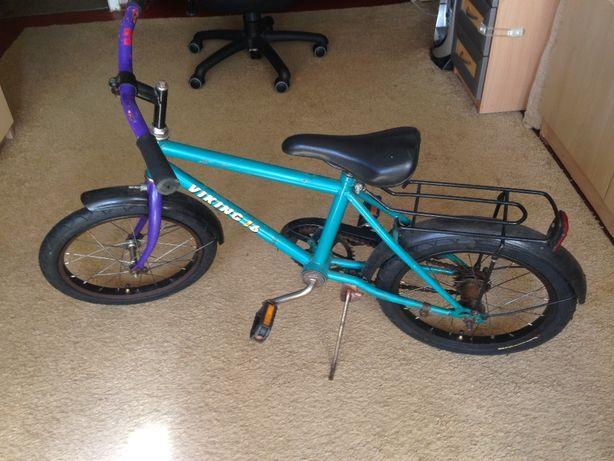 Детский велосипед viking 16