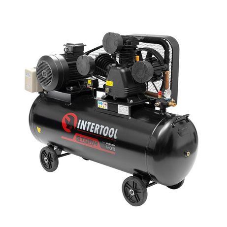 Компрессор 200 л, 7,5 кВт, 380В,10атм, 1050л/м. 3 ц. INTERTOOL PT-0040