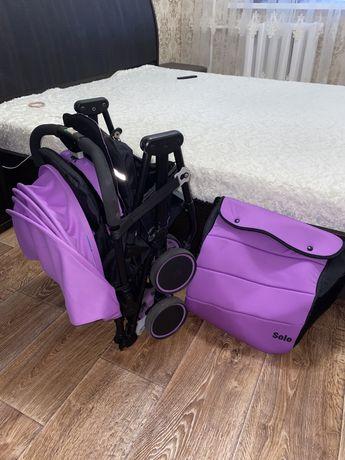 Компактная, легкая и очень удобная прогулочная коляска ( тросточка)