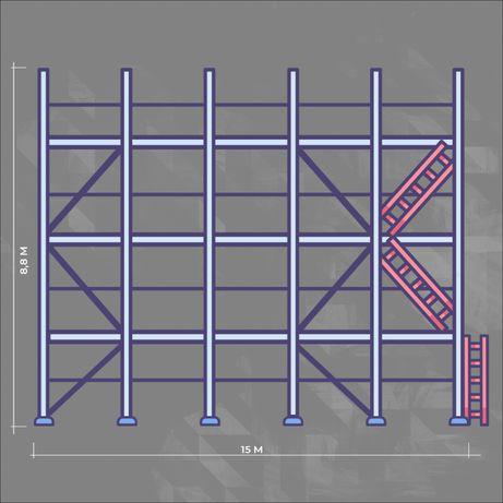 Rusztowanie fasadowe elewacyjne Plettac 132 M/2