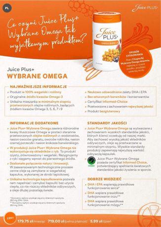 Kapsułki Omega Juice Plus+