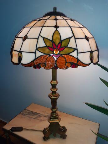 Lampa witrazowa Tiffany wys ok. 70 cm