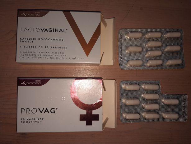 Provag lactovaginal tabletki witaminy