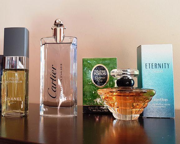 Chanel, Cartier, CK, Lancome