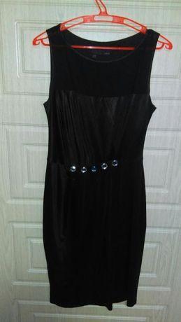 Черное платье вечернее
