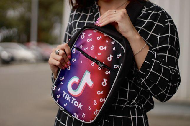 Міні-рюкзачок, рюкзак сумка Тік Ток Tik Tok  Likee Лайкі розд опт