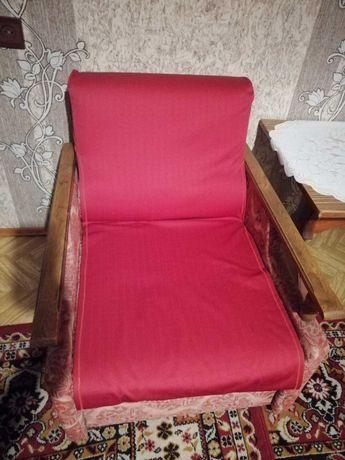 Tapczan + 2 masywne fotele + różowe narzuty