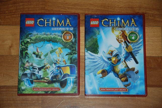 """Bajki DVD """"Legendy Chima"""" odcinki 9-12 i 13-16"""