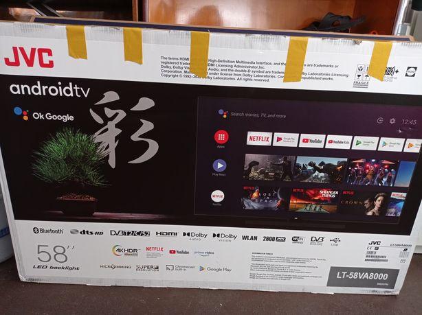 Sprzedam nowy telewizor JVC 58 cali uszkodzona matryca