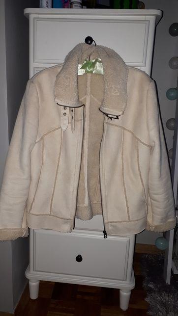 Krótka kurtka kożuszek Next 38