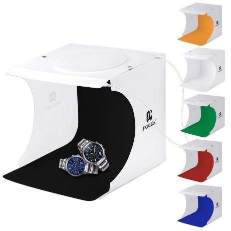 Caixa de luz para fotografia e vídeo box foto produto luz e fundos