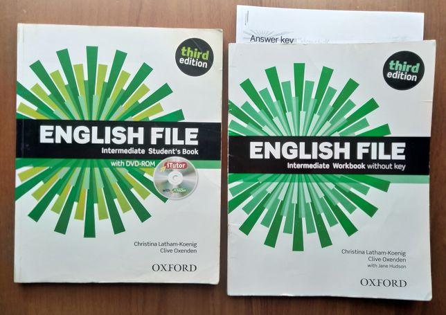 English File Intermediate komplet jak NOWY podręcznik ćwiczenie 3rd