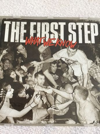 The first step (agnostic front  bad religion integrity )hard core