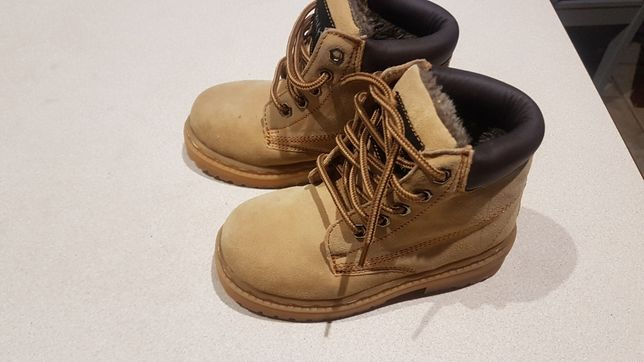 nowe buty zimowe 28 skóra naturalna nubuk