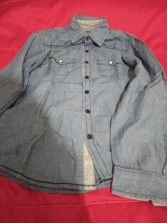 Camisa rapaz e outros artigos