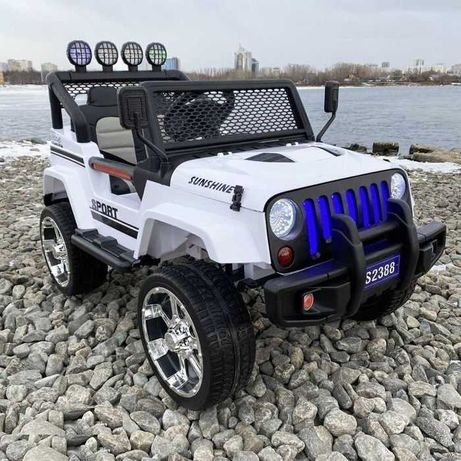 JEEP Raptor 4x4 Terenowy AKUMULATOR Auto Elektryczny Samochod 2 Dzieci