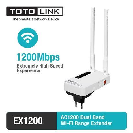 TotoLink EX1200M Репитер 2.4/5Ггц Wi-Fi 1200Mbps Усилитель сигнала