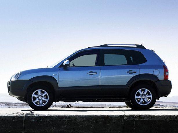Hyundai Tucson (2004-2010) - заднє скло