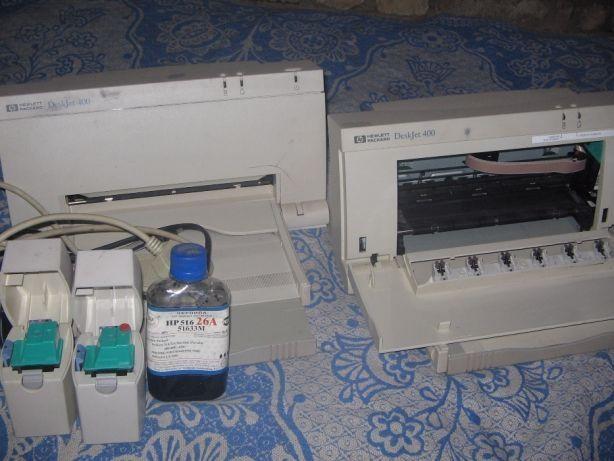 Продам принтер НР Deskjet 400 с чернилами и запчастями