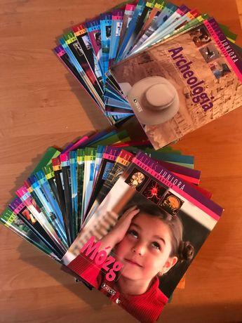 Komplet książek Atlas Juniora 34szt.