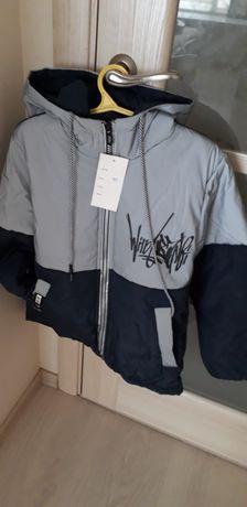 Куртка на Осень для мальчика рост 134см