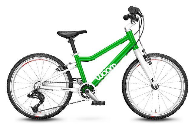 Rower Woom 4 (20″) 7.7 kg NOWY Zielony(2021) 6 -8 lat • 115 – 130cm