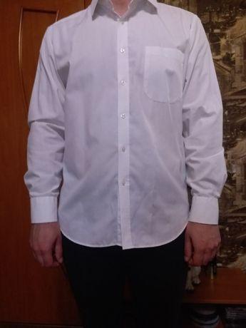 Рубашка шведка мужская белая