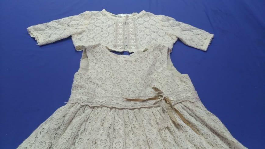Vestido de criança para cerimónia (quase) novo! USADO 1 VEZ APENAS! Arco De Baúlhe E Vila Nune - imagem 1