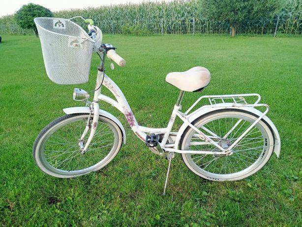 Rower dziewczęcy 24 koło