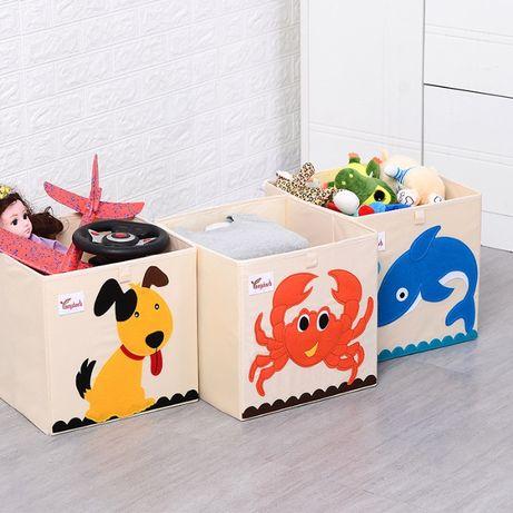 Коробки для игрушек. Корзина, ящик! Удобные и практичные! Разные цвета