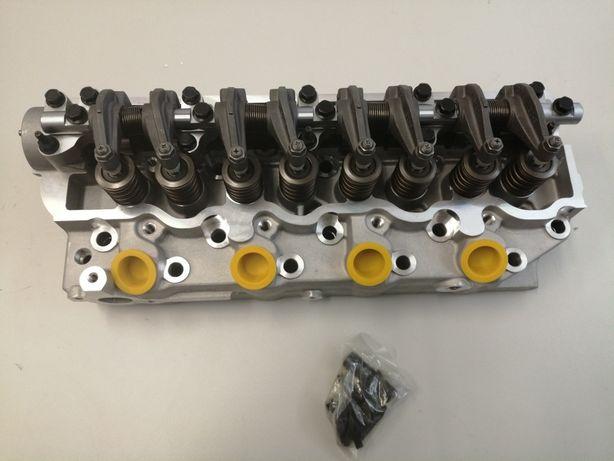 Cabeça de motor mitsubishi L200 L300 L400 completa 4D56