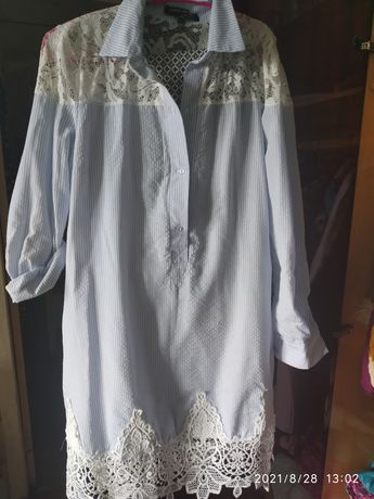Срочно.Рубашка платье.
