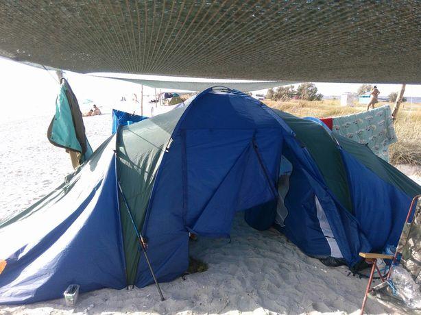 Палатка 4х местная двухслойная.