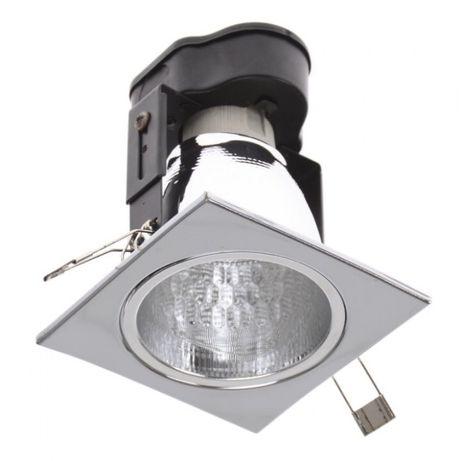 Встраиваемый светильник Brille VDL-30K CHR SQR хром квадратный
