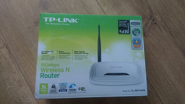 Router TP- LINK TL-WR740N 150Mb/s WIFI