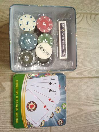 Набор для покера, 120 фишек