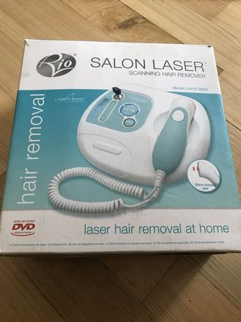 Лазерний епілятор RIO Salon Laser з функцією сканування.