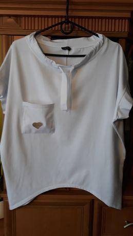 Biała bluzka la Pia