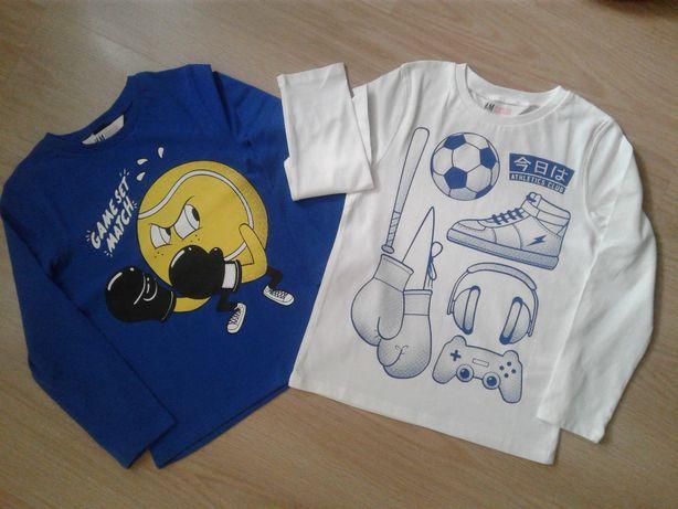 Новые футболки с дл.рукавом, регланы, лонгсливы разм. 110-116