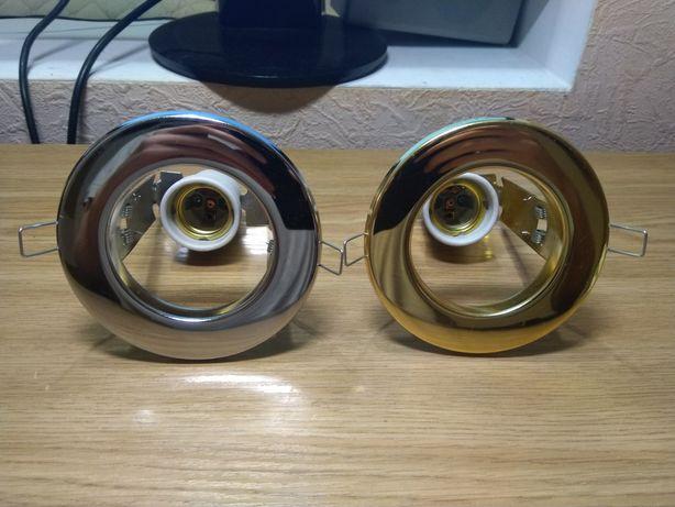 Точечные/потолочные светильники Metsan E27. Распродажа неликвида