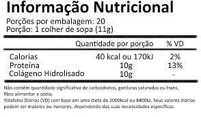 ⊛ 250 gr de Péptidos de Colagénio Hidrolisado 100%Satisfação Garantida