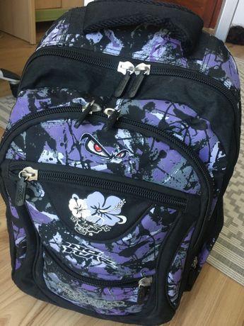 Plecak szkolny na kółkach