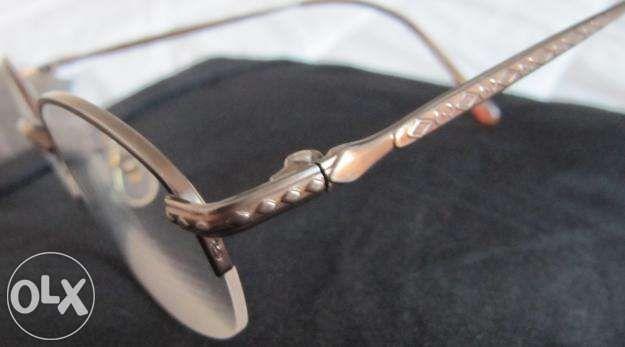 2 armações óculos Seiko Titanium 826