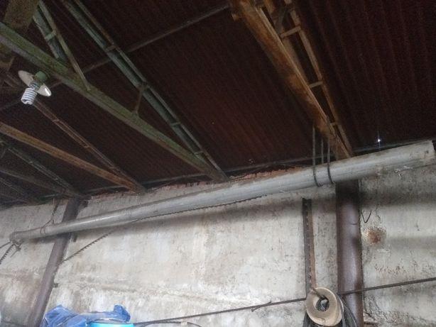 Труба алюминиевая 9 метров на 22 сантиметра