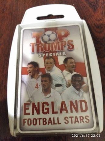 Карточки Английские Звезды Футбола - England Football Stars (30+3)