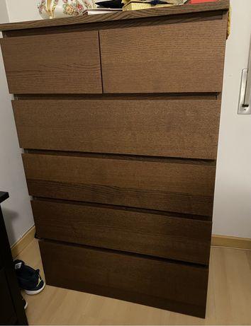 Cómoda MALM IKEA como nova