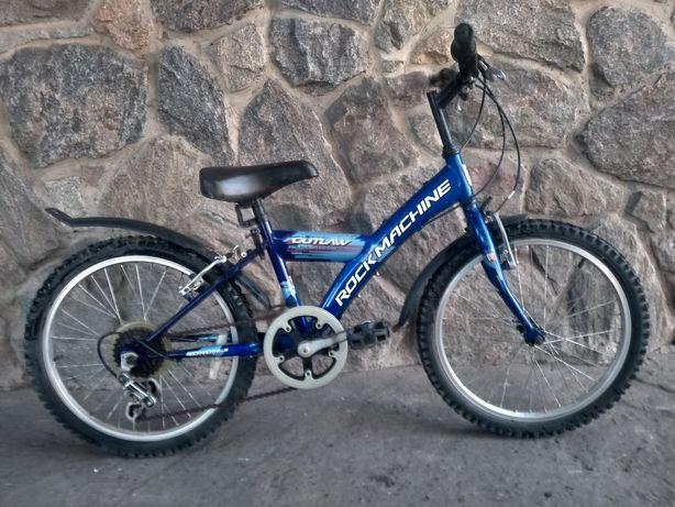 Синий детский велосипед до 10 лет