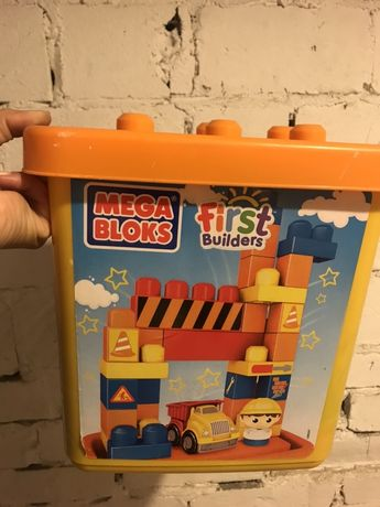 Klocki Mega Blocks First Builders 3 opak.
