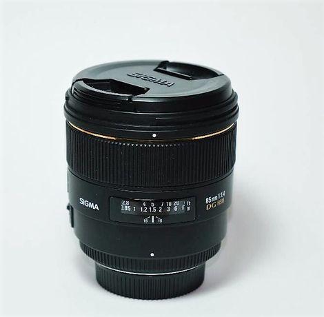 Объектив Sigma 85mm f/1.4 EX DG HSM (для Nikon)