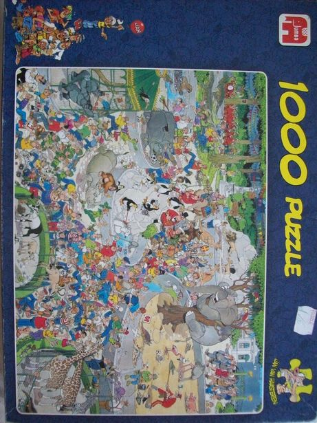 puzzle haasterena The zoo